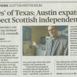 Austin American Statesman Ayes Part 1