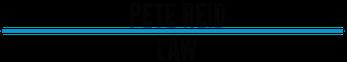 Pete Reid Law Logo